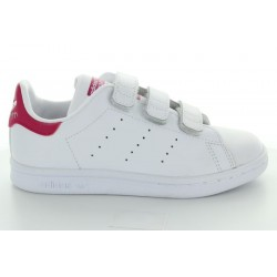 STAN SMITH CF C BLANC ROSE