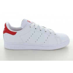 STAN SMITH W BLANC ROUGE