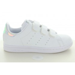 STAN SMITH CF C PRIMEGREEN BLANC IRISE